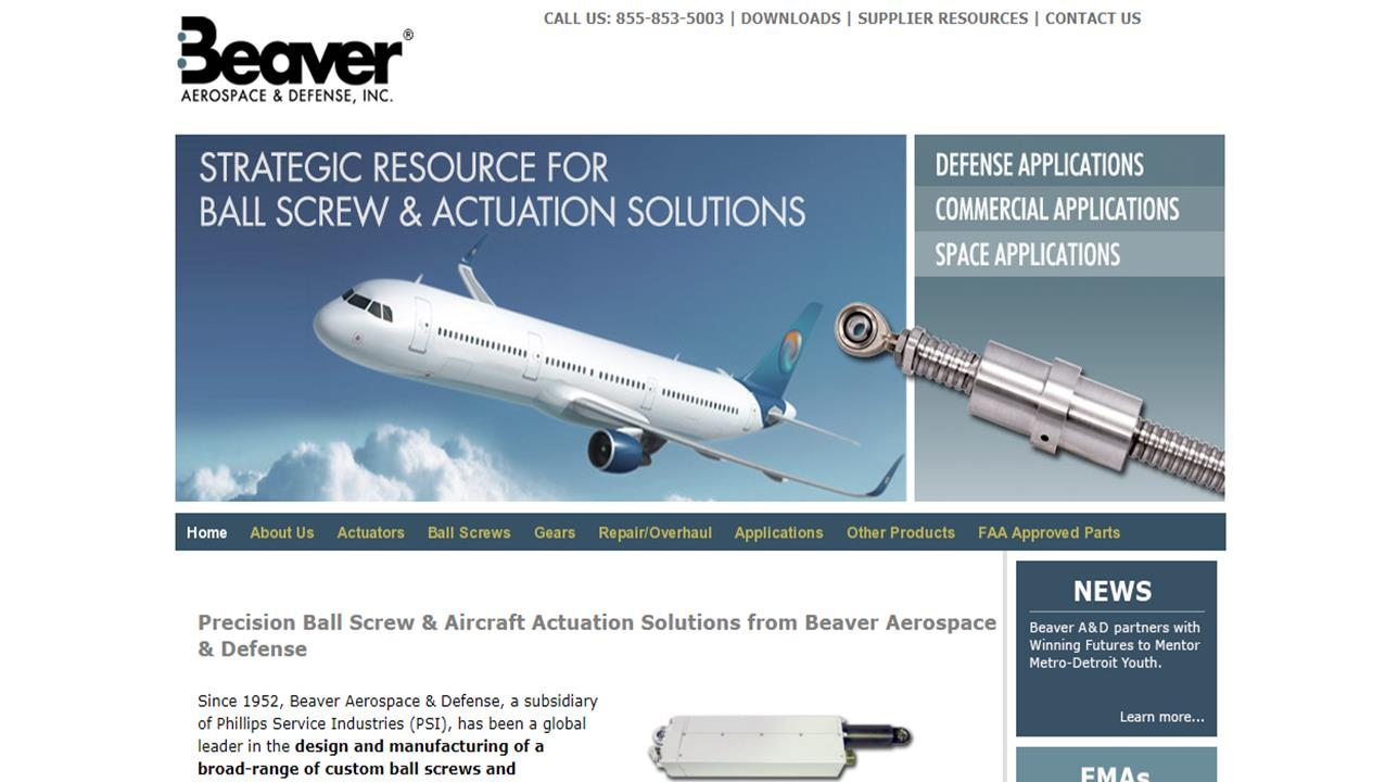 Beaver Aerospace & Defense, Inc.