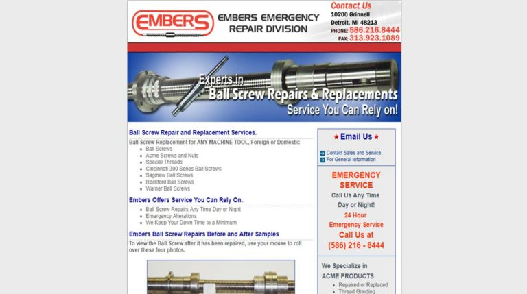 Embers Ball Screw Co.