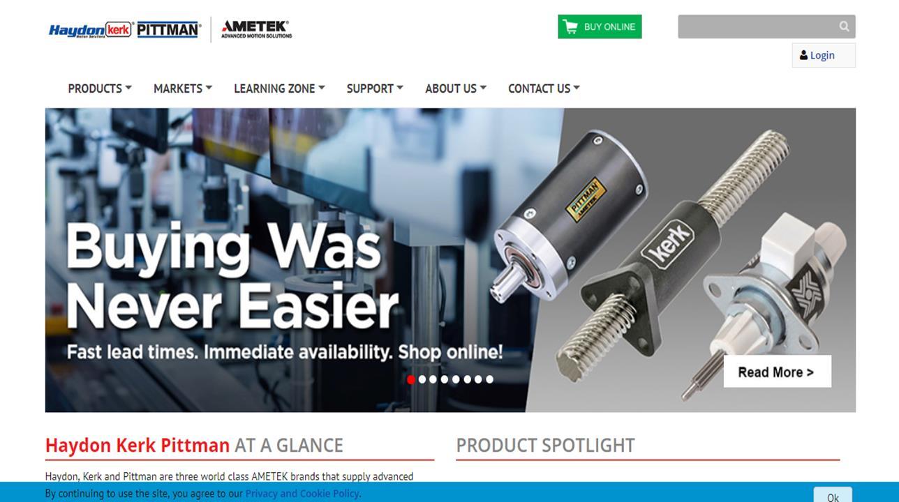 AMETEK Haydon Kerk Motion Solutions, Inc.