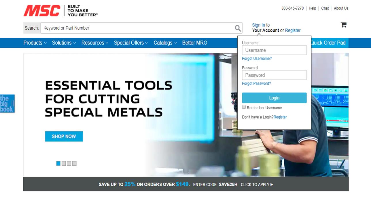 MSC® Industrial Supply Co.