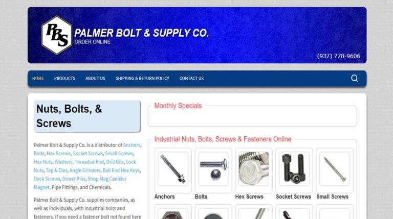 Palmer Bolt & Supply Co.