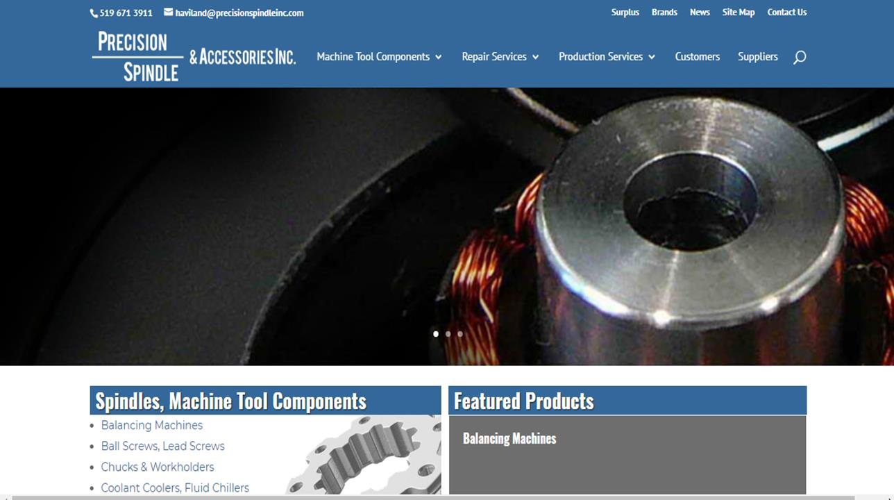 Precision Spindle & Accessories, Inc.