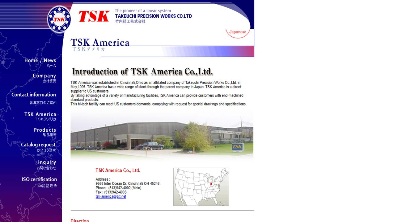 TSK America Co., Ltd.
