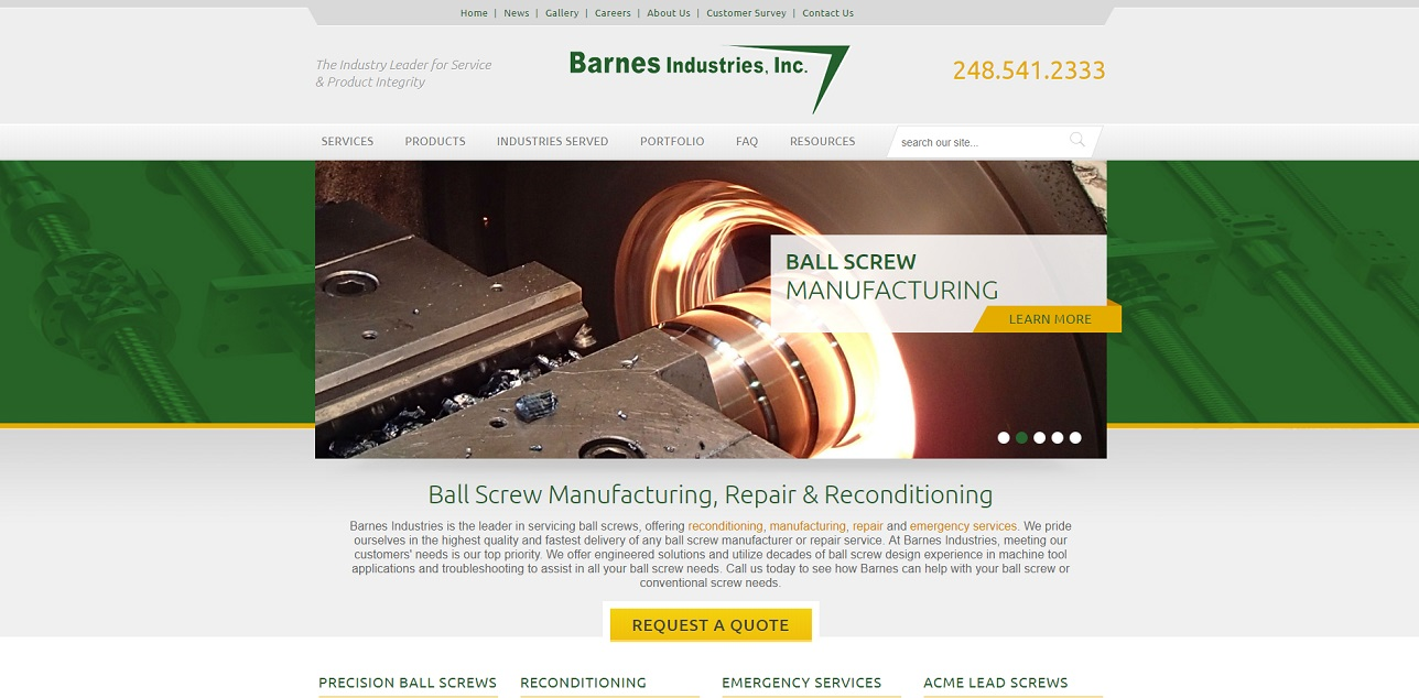 Barnes Industries, Inc.