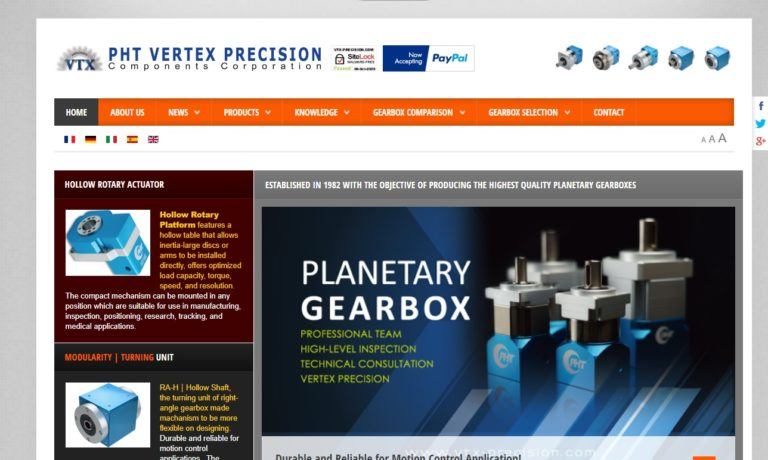 Vertex Precision Components Corporation